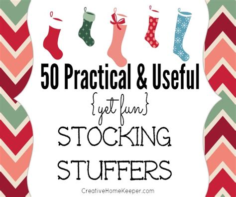 fun stocking stuffers 50 practical and useful yet fun stocking stuffers