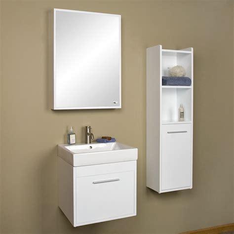 "26"" Sumiko Wall Mount Vanity with Medicine Cabinet   Bathroom"