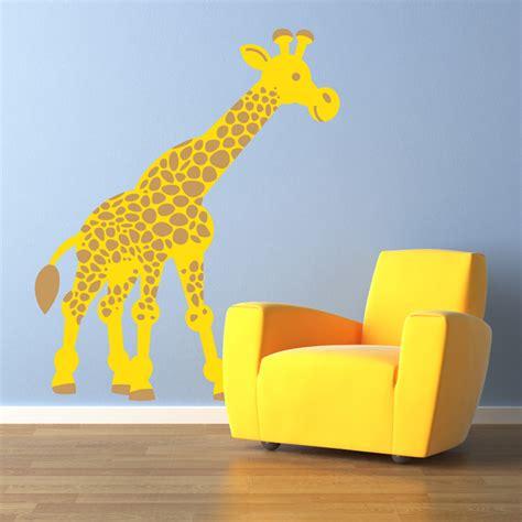 wall stickers giraffe giraffe wall decal