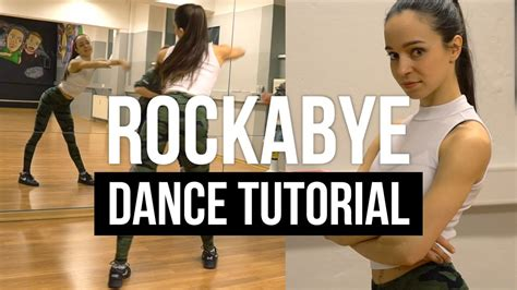 tutorial dance for you chair choreography rockabye dance tutorial jazz funk choreography