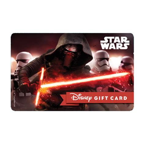 Star Wars Gift Cards - your wdw store disney collectible gift card star wars kylo ren