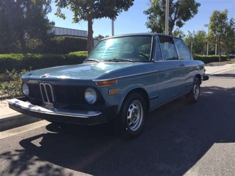 bmw 2002 parts 1976 bmw 2002 blue blue california car tons of new