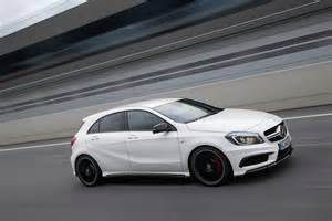 mercedes a 45 amg in a class lineup photo 11