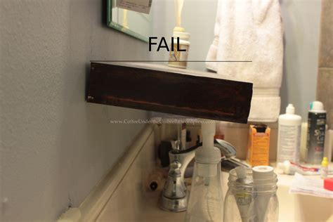 how to build a new bathroom beethoven shelf fails new diy shelf and picture frame
