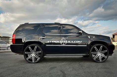 bob johnson cadillac cadillac escalade custom wheels lexani johnson 26x10 0 et