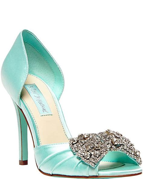 betsey johnson wedding shoes betsey johnson heels gown blue together forever
