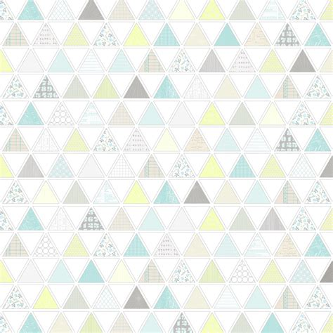 Paper Pattern - 1 pattern filled triangles free printable digital patter