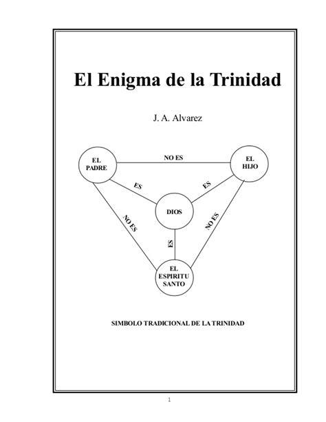 el enigma de la 8415140355 el enigma de la trinidad