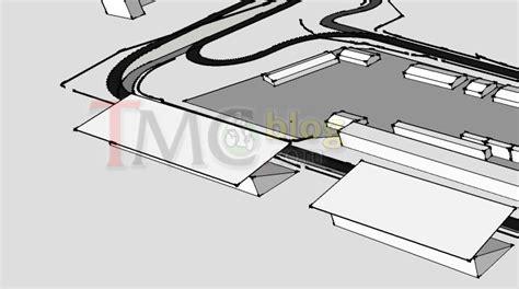 layout renovasi sirkuit sentul ekslusif ini desain update sirkuit sentul karya dromo