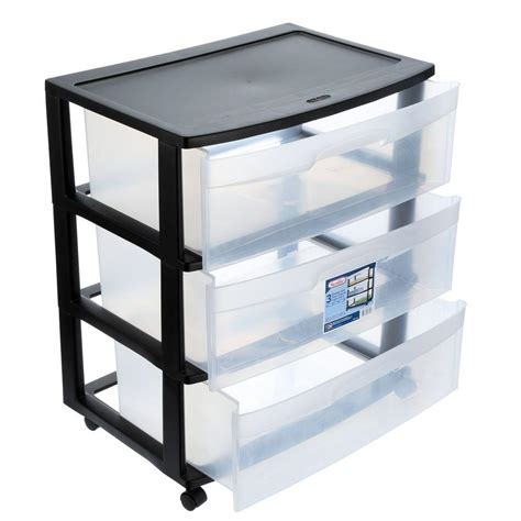 Plastic Storage Drawers Big W by Sterlite Drawers With Sterlite Drawers Excellent