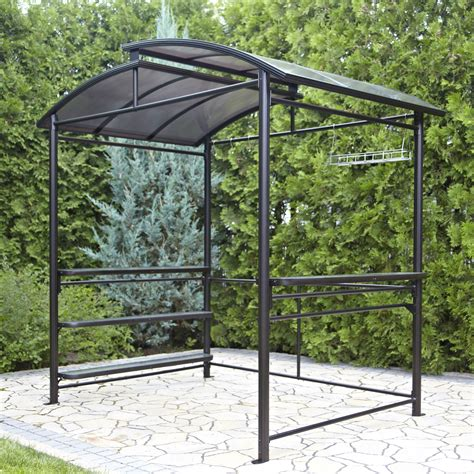how to make a metal frame gazebos with netting metal