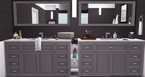 bentons bathrooms benton bathroom at onyx sims 187 sims 4 updates