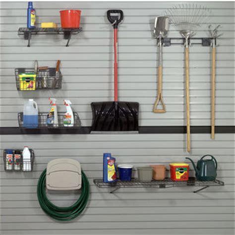 garage organization wall systems garage organization handiwall slat wall system white