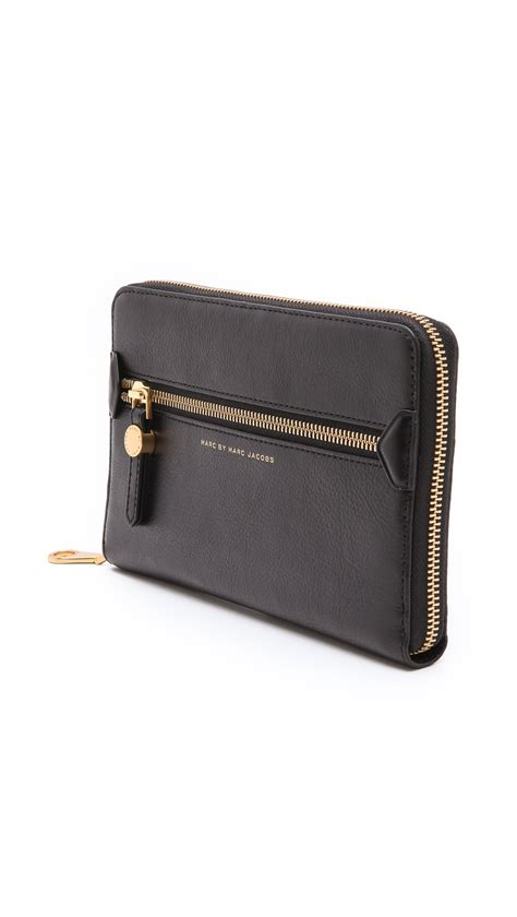 Marc By Marc Dot Travel Wallet by Lyst Marc By Marc Globetrotter Travel Wallet In Black