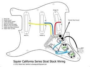squier california series strat stock wiring diagram squier talk forum