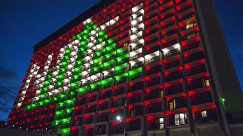 sa buildings light up downtown in mayor s holiday contest