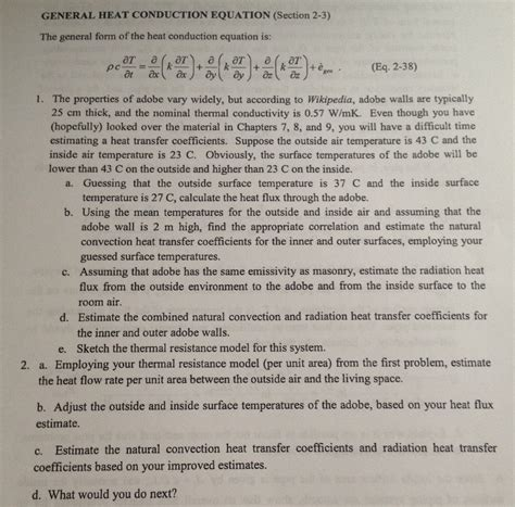 section 3 using heat answers general heat conduction equation section 2 3 the