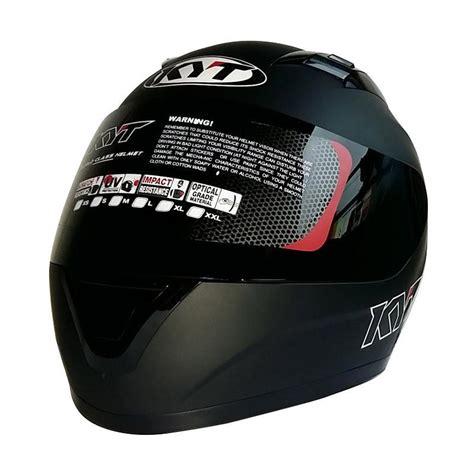 Helm Kyt R10 Black jual kyt r10 helm solid black matt harga kualitas terjamin blibli