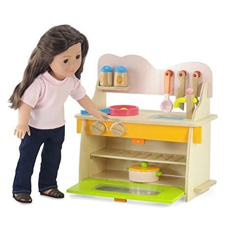 18 inch doll furniture kitchen set with oven stove