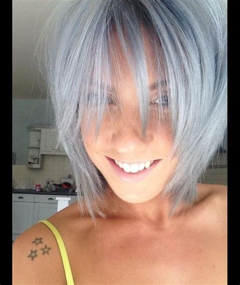 is the hairstyle where you only dye your bottom blond still really in style 78 best images about trend grey hair on pinterest