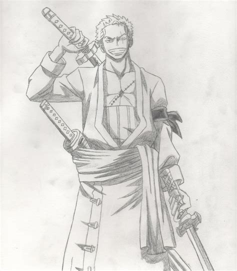 Drawing Zoro by Roronoa Zoro By Deinyght On Deviantart