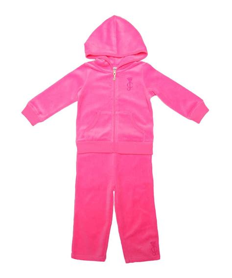 juicy couture tracksuit sale juicy couture baby s velour tracksuit in pink plumeria