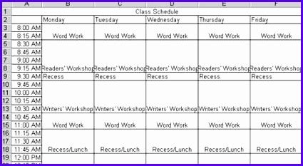 back to school class schedule can t find substitution for