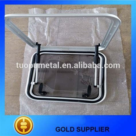 boat hatches used tuopu aluminium boat deck hatch marine watertight boat