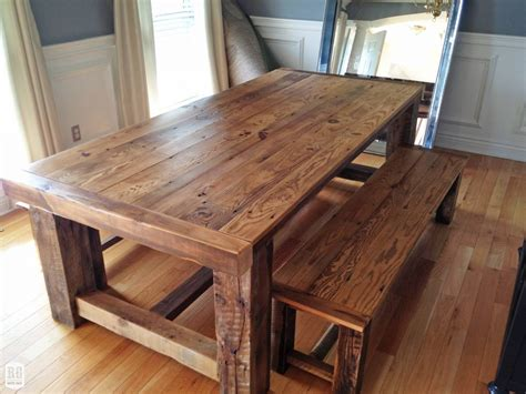 rustic farmhouse bench selecting the best chairs for rustic farmhouse table smith design
