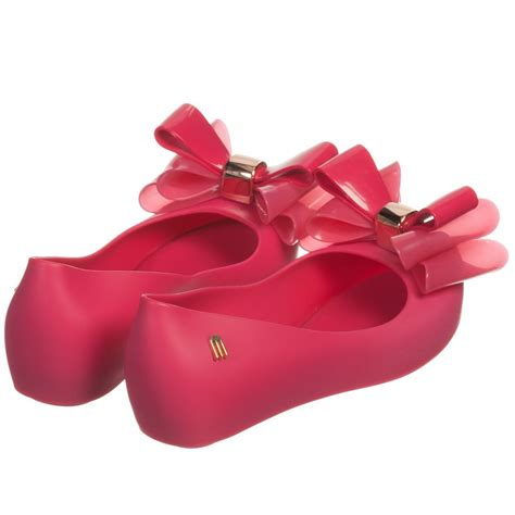 Mini Ultragirl Bow Black Size 6 7 8 mini fuchsia pink ultragirl bow shoes childrensalon