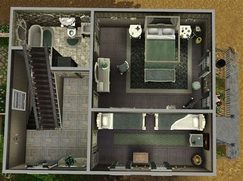 House Plan Creator Mod The Sims 12 Grimmauld Place