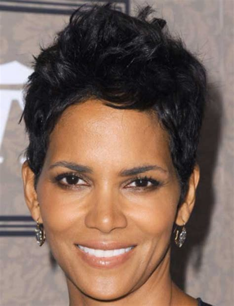 short weave hairstyles for rihanna and haille berry 25 wavy pixie cuts pixie cut 2015