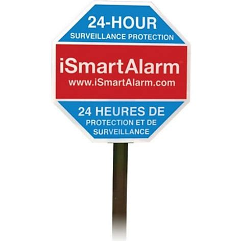 Office Depot Yard Signs Ismart Alarm Yard Sign Stickers By Office Depot Officemax