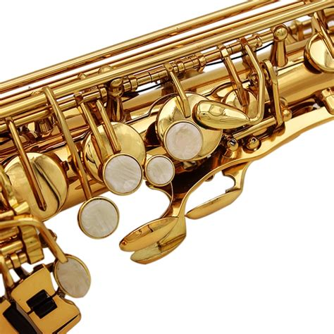 ingrosso lade lade alto eb sassofono sax vernice oro con custodia e
