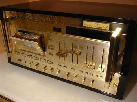nakamichi 1000 cassette deck nakamichi 1000zxl gold the highest peak cassette deck of