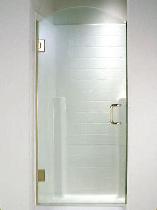 swinging glass shower door swing shower doors martin shower door