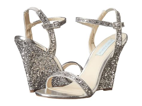 bridal sinking sparkly wedding wedges that won t sink into the lawn