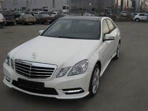 E Class Mercedes For Sale Used 2012 Mercedes E Class Photos 3498cc Gasoline