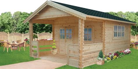 Cotswolds Log Cabin With Tub by Buy Wooden Cabins Wood Garden Sheds And Garages Wood