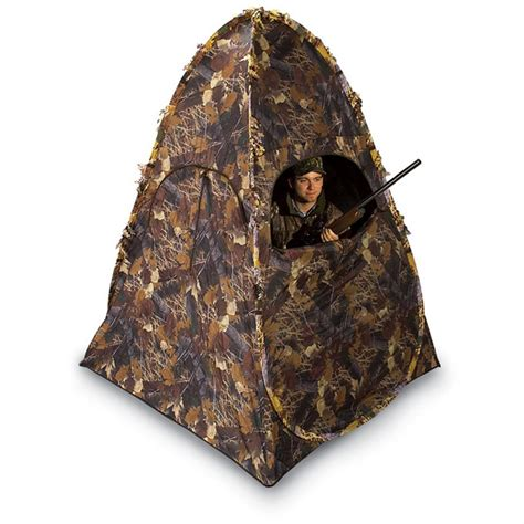 ameristep dog house ameristep 174 doghouse blind 74207 ground blinds at sportsman s guide