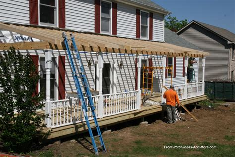 veranda anbauen how to build a porch build a front porch front porch