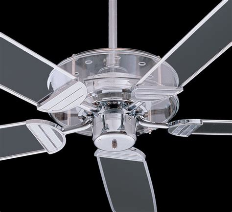 Clear Ceiling Fan by Quorum International Prizzm Ceiling Fan Clear Acrylic