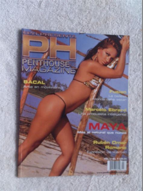 penthouse con revista penthouse pilar montenegro ex garibaldi