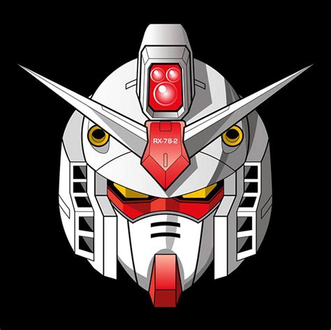Raglan Gundam Gundam Logo 03 gundam vector illustrations on behance