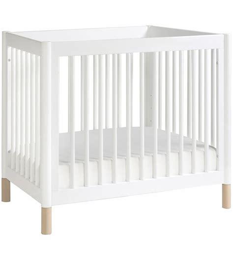 Babyletto Gelato 2 In 1 Mini Crib White Natural Babyletto Mini Crib Reviews