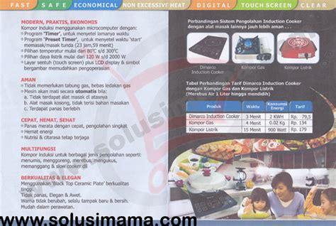 Mixer Signora Pro Master solusi induction cooker