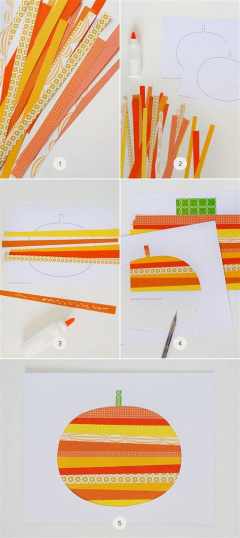 Crafts Using Paper Strips - 17 best images about fall on paper strips