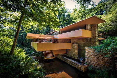 Haus Fallingwater by Frank Lloyd Wright S Fallingwater Seven Springs Cabin