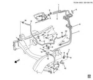 Brake Line Diagram For A 1999 Chevy Silverado Brake Lines Front C310 314 Brake Lines Front