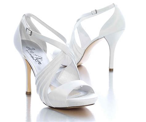 wedding shoes white satin bridal shoes white low heel